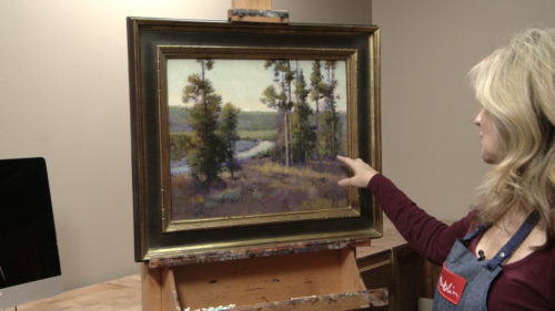 Painting Christmas Meadow