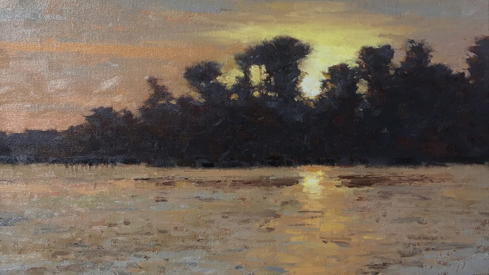 Set Image for Evening Sunset on Neuse River