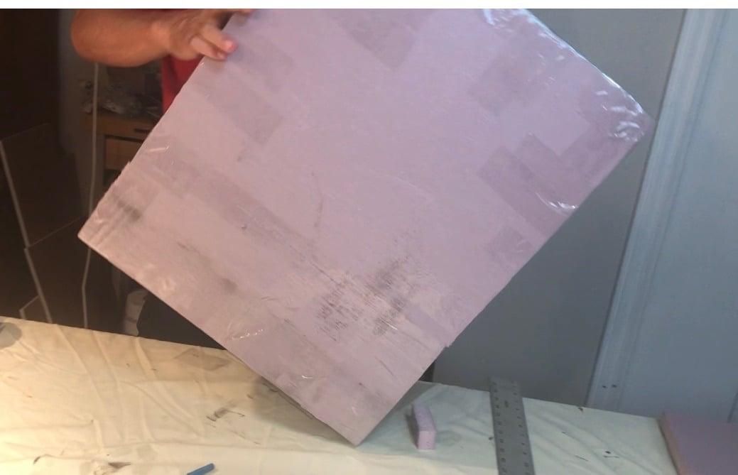 Making An Art Shipping Box